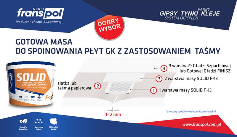 Masa Szpachlowa SOLID F-13